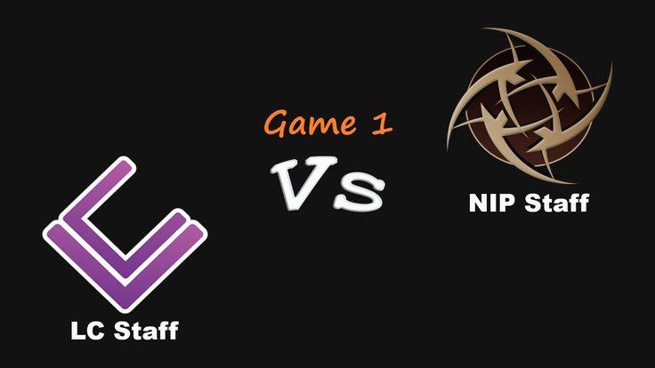 LC Staff vs NIP Staff Game 1 - Mirage bo3 - Stuff Cup - 14.11.15