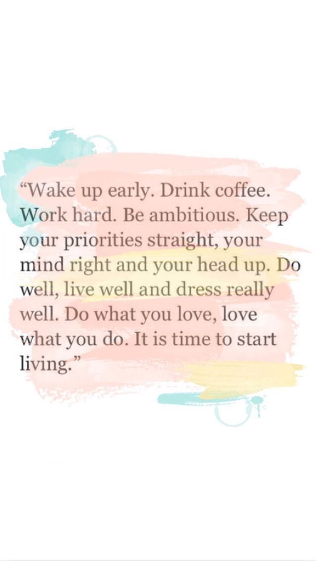 12 shocking benefits of waking up early at 4am! Wake up early. Drink coffee. Work hard. Be ambitious. Keep your priorities straight, your mind right and your head up. Do well, live well and dress really well. Do what you love, love what you do. Its time to start living. - Tap the link now to Learn how I made it to 1 million in sales in 5 months with e-commerce! I'll give you the 3 advertising phases I did to make it for FREE!