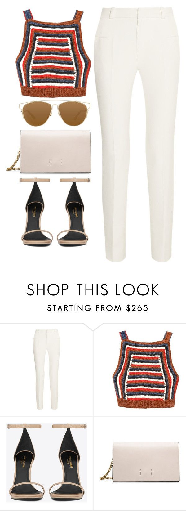 """"""""""" by skatery ❤ liked on Polyvore featuring Roland Mouret, Rachel Comey, Yves Saint Laurent, Calvin Klein and Christian Dior"""
