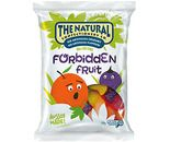 A box of 12 bags of The Natural Confectionery Company Forbidden Fruits.