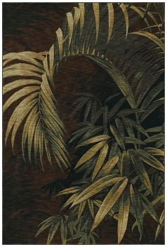 Tropical Leaf Floral Area Rug   Tommy Bahama