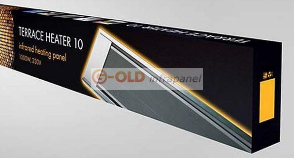 G-OLDSUN TH-10 - 1000W Egysoros infrafűtés - G-OLD Infrapanel - Infrafűtés