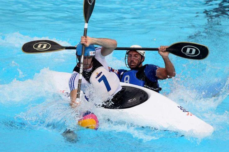 Alemania fue potencia en Polo en Kayak ganando el oro en varones y mujeres.