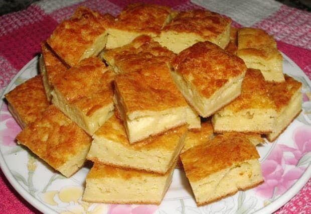Esta receta de Fainá de Queso, riquísima y super fácil de hacer, puede tener algunas variantes, se le puede agregar jamón y queso en cubitos