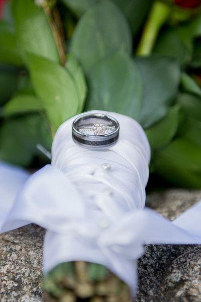 Wedding rings, Melina Black Photography