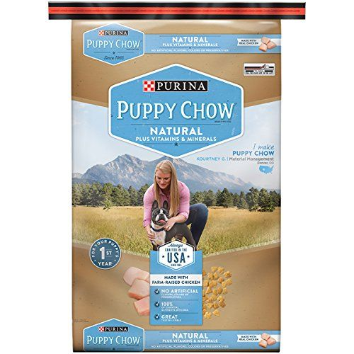 Purina Puppy Chow Dry Dog FoodNatural Plus Vitamin and Minerals 155Pound Bag Pack of 1 *** You can find more details by visiting the image link.(This is an Amazon affiliate link)