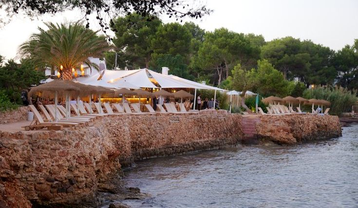 Babylon Beach, Punta es Farallo, Ibiza, Balearic Isles, Spain