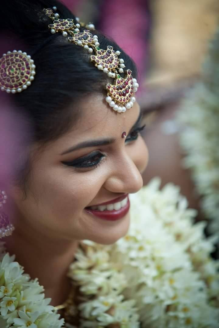 Best South Indian Bridal Makeup Images On Pinterest Indian