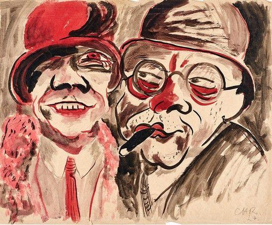 Преступление и опознание. Выставка «дегенеративного искусства» из коллекции Гурлитта http://rupo.ru/m/5260/ #коллекциягурлитта  #дегенеративноеискусство #корнелиусгурлитт
