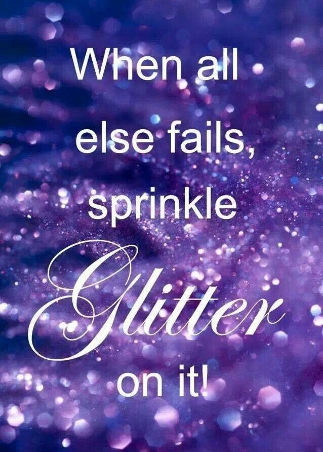 Glitter Quote Sparkle quotes, Inspirational quotes, Quotes