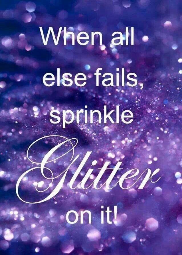 #Glitter #Quote