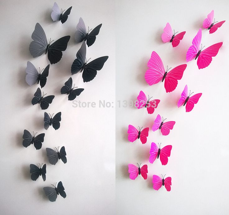 Best Wall Stickers Images On Pinterest Wall Clings Wall - Butterfly wall decals 3daliexpresscombuy d butterfly wall decor wall sticker