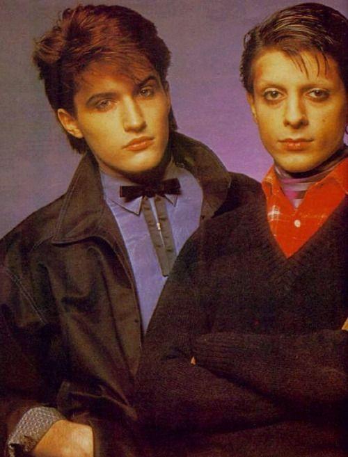 Steve Jansen and Mick Karn
