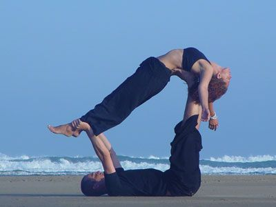17 best images about yoga for two  partner couples and