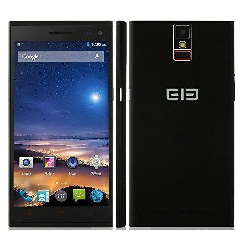 "Teléfono P2000 MTK6592 Octa núcleo celular Android 4.4 5.5"" 2GB RAM 16GB ROM frente 8.0MP & Rear 13.0MP cámaras duales 3 G/GPS/OTG/NFC (negro)(Enchufe de UK)"