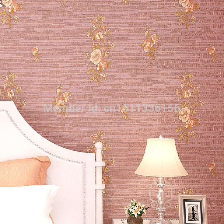 Ян Ван 3d толщиной тканые глубоко тисненые обои спальня уютный Европейском стиле сад гостиной ТЕЛЕВИЗОР фон обои
