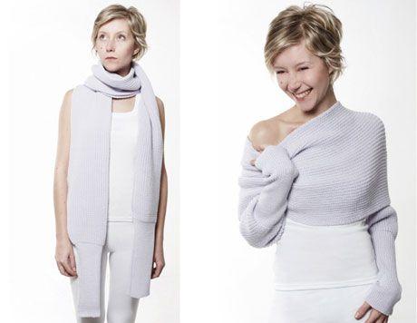 Свитер -шарф