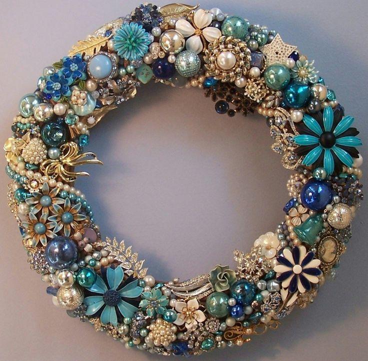 Jewelry wreath