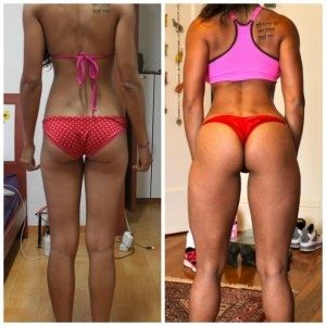 Here is your 5 day workout to get you on your way to delicious, jiggle free legs:  Monday 10 Lunges 20 Calf Raises 30 High Knees 20 Plie Squats 10 Toe Touches  Tuesday 10 Jumping Jacks 20 Mountain Climbers 30 Second Wall Sit 20 Calf Raises 10 Side Lunges  Wednesday 10 Plie Squats 20 High Knees 30 Toe Touches 20 Calf Raises 10 Lunges