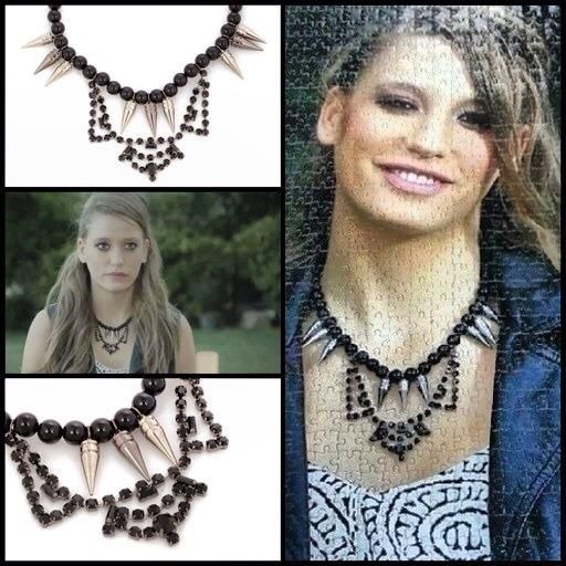 Piskopat Tan'ın Mira puzzle'ındaki kolyesini hatırlarsınız  Bendis ile lidyana.com'da! #medcezir #bendistaki #spikes #gothic #instafashion #necklace #kolye #igers