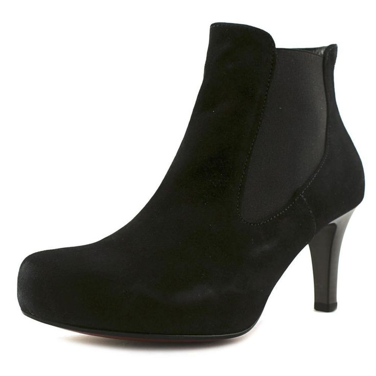 Gabor 51.731 Round Toe Suede Ankle Boot