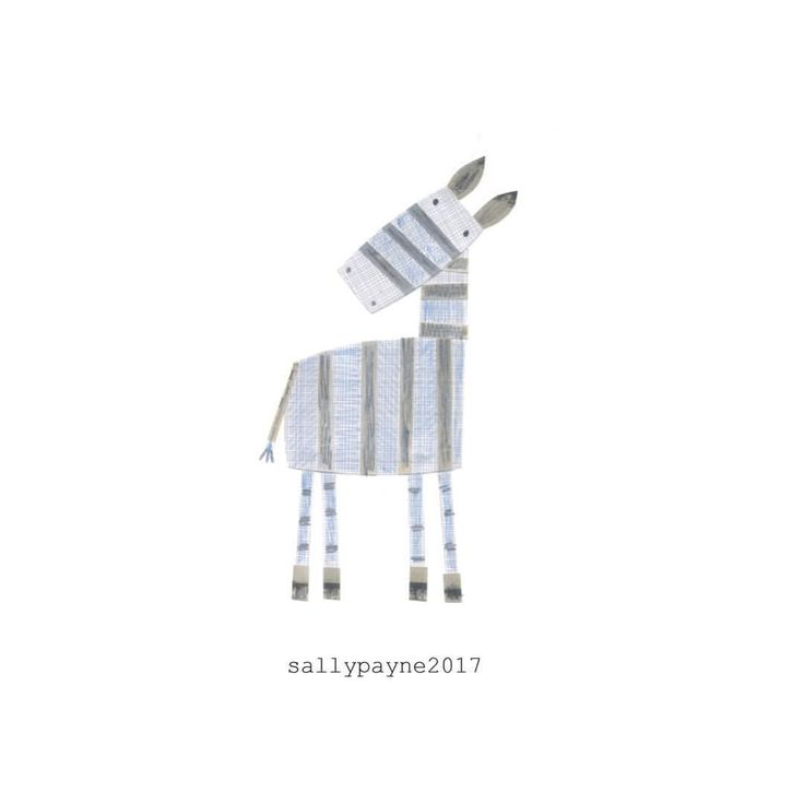 Next up as part of the kids trends drawing challenge - collage and crayon zebra #kidstrends2018 #designgardenclasses #zebra #collage #kidsgraphics #illustrator #illustration