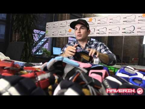 Maverik Lacrosse behind the scenes look at the making of the Rome Gloves