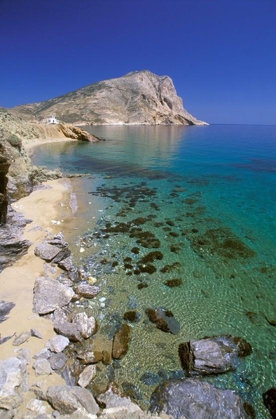 Anafi island, Cyclades, Greece