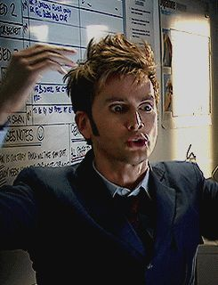 People are too caught up in the fact that he has two hearts and the Tardis is bigger on the inside...could we all just take a moment to wonder how on Gallifrey his hair is able to defy gravity in such a marvelous way???