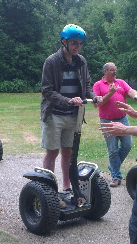 Segway at Leeds Castle