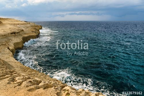 "Download the royalty-free photo ""dramatic sea before the storm "" created by stillforstyle at the lowest price on Fotolia.com. Browse our cheap image bank online to find the perfect stock photo for your marketing projects!"