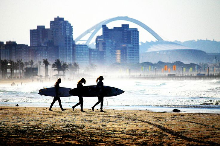 Surf some awesome waves at our beautiful beaches!  #Surfsup #Durban #Summer