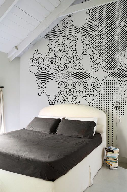 """Wall & Decò not only do wallpaper for the exterior, they have """"regular"""" wallpaper as well and it's just as awesome."""