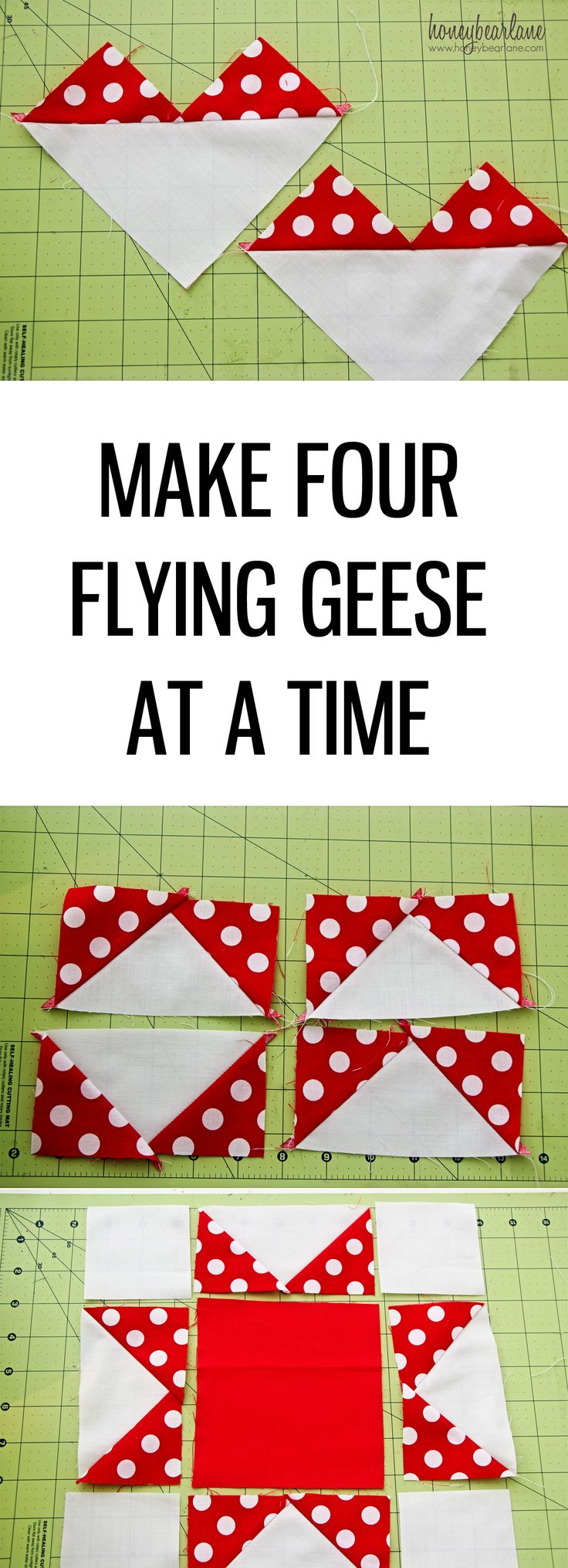 Make Four Flying Geese at a Time                                                                                                                                                                                 More