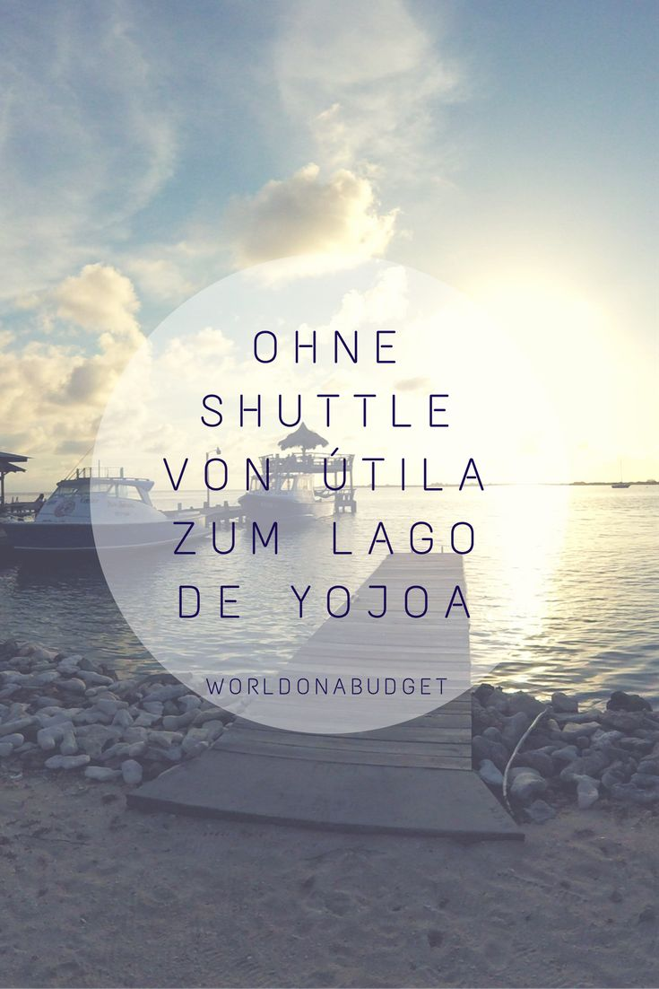 Zwei der attraktivsten und zudem sichersten Gegenden in #Honduras sind die #Karibikinsel #Utila und der #LagodeYojoa. Auch die Anreise kann problemlos an einem Tag und mit öffentlichen Verkehrsmitteln bewältigt werden. Wie? Das erfährst du in unserem #Blogartikel. #Reisebericht