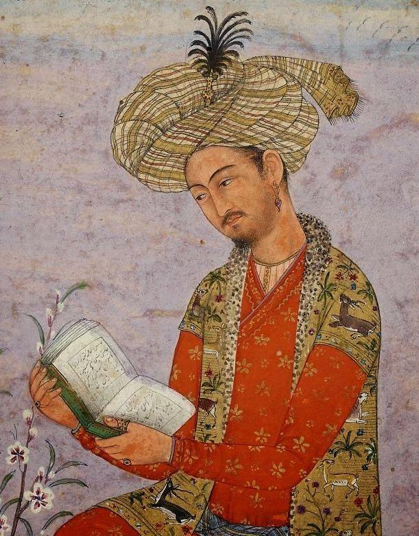 Babur, fundador del Imperio Mogol de la India