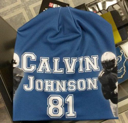 Detroit Lions Calvin Johnson Beanie - Lightweight