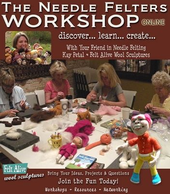 The Needle Felters Workshop