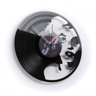 Marilyn Monroe Vinylclock
