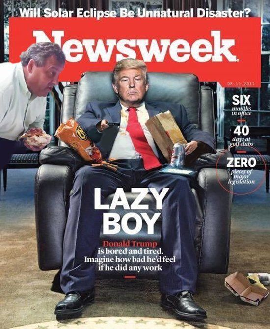 Resultado de imagen para sarcastic journals in Time covers trump shit holes 2018