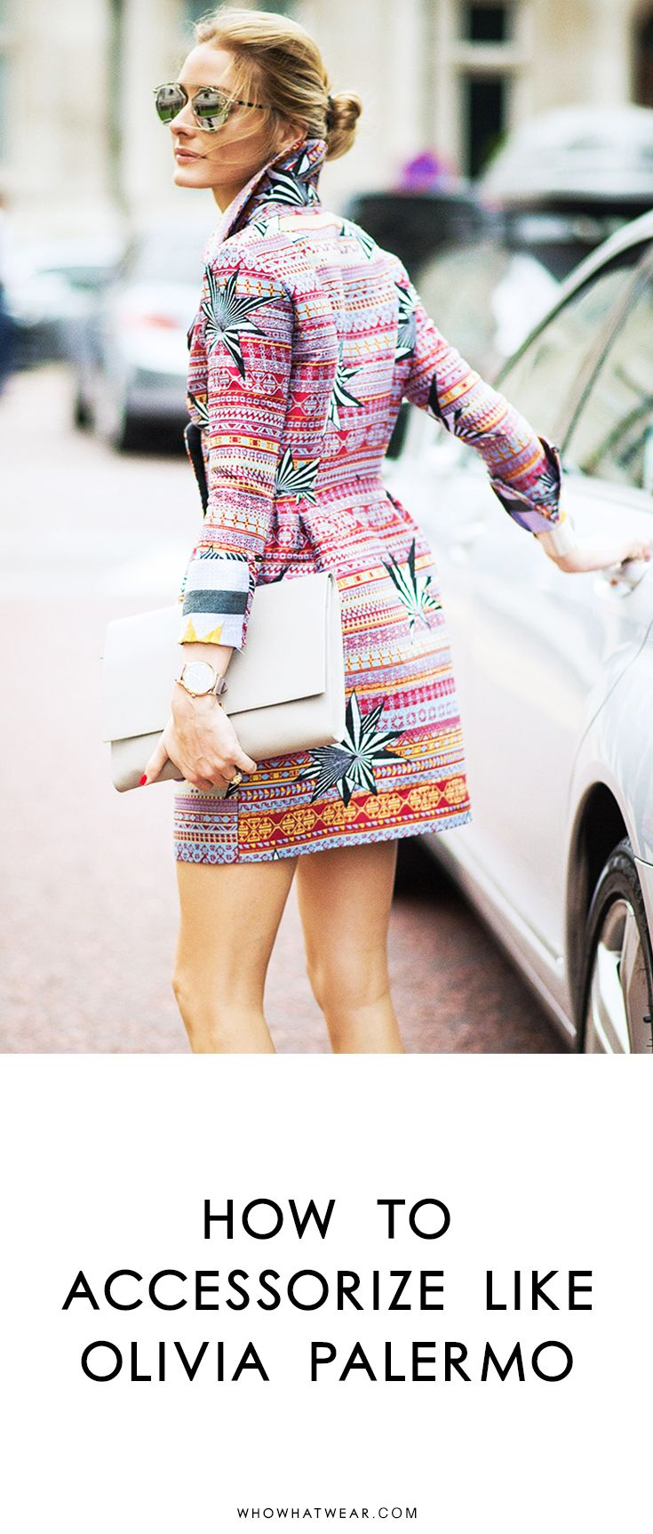 Tips on how to accessorize like street style maven, Olivia Palermo.