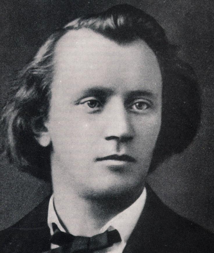 Johannes Brahms in 1853, 20 years old