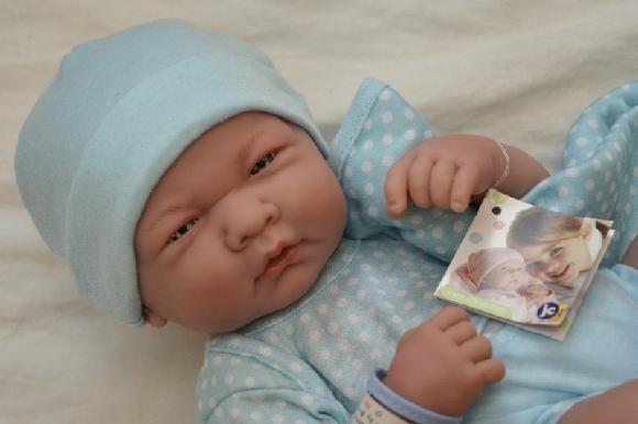 Realistické miminko chlapeček - Emílek od Berenguer ze Španělska