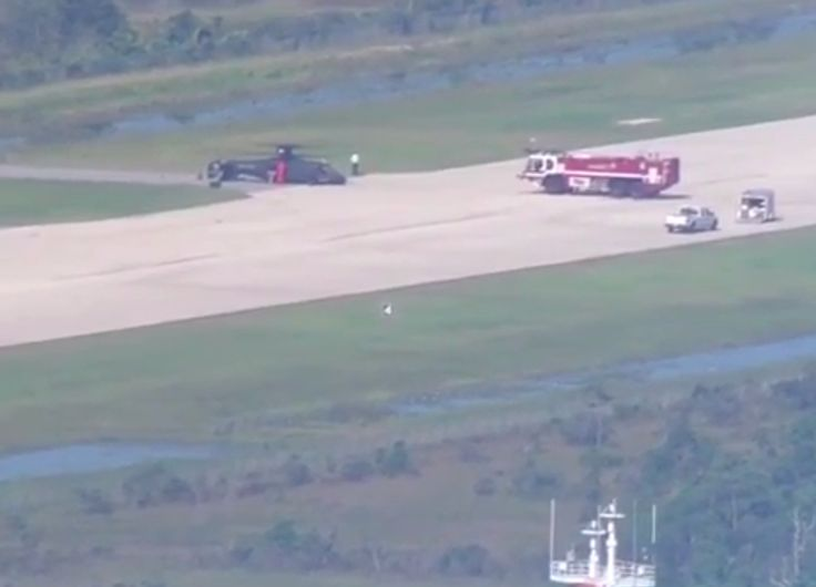 A new S-97 Raider helicopter has made a hard landing at the Sikorsky Development Flight Center in Palm Beach County earlier today.    According to WPTV, the prototype helicopter was conducting a test flight when the hard landing happened. Two people were on board and neither was injured, Lockheed Martin said.