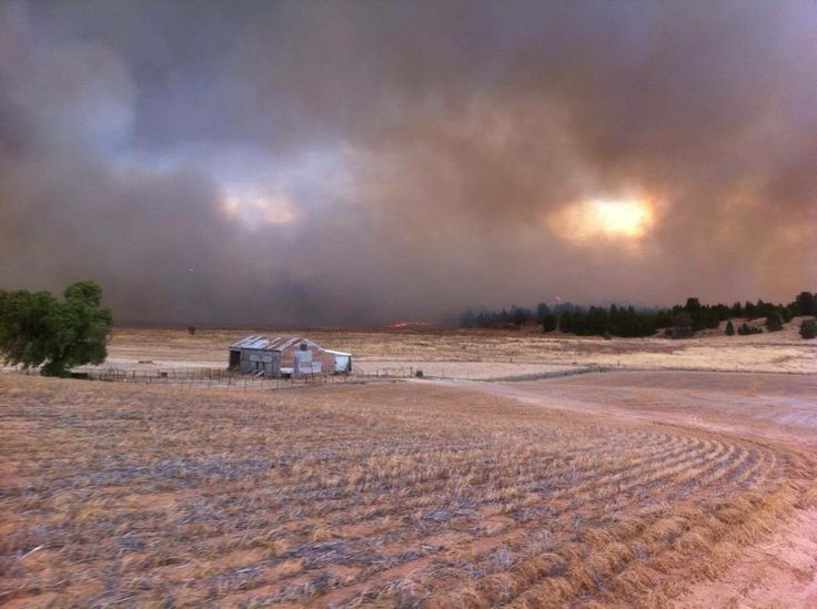 CFA controlling the Mallee fires, January-February 2014