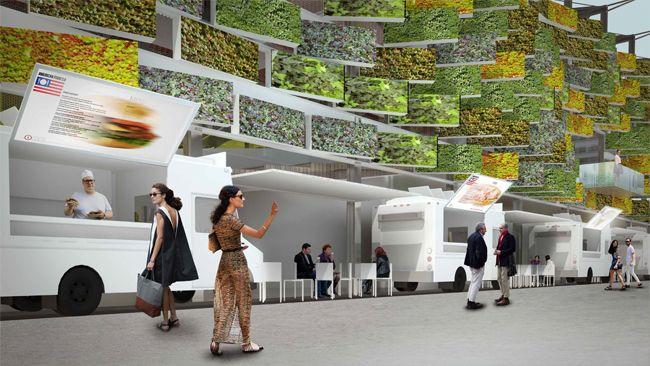 Le #pavillon des #EtatsUnis de #Expo2015 ressemblera à un grenier ouvert, à l'image du #pays qui se veut accueillant et souhaite relever le défi d'une augmentation de 70% de sa production d'ici à 2050 pour nourrir l'humanité conjointement avec les autres pays. Plus d'infos sur : http://www.novoceram.fr/blog/news/expo2015-pavillon-des-etats-unis