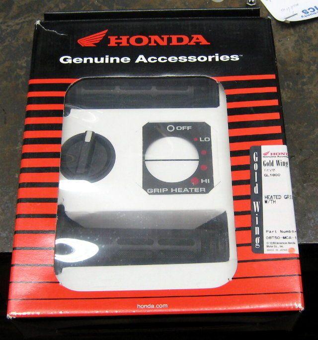 Honda Genuine Accessories Goldwing Gl1800 Heated Grips