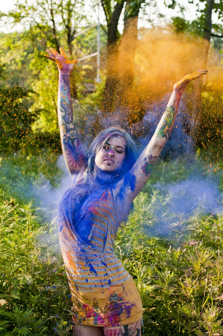 Color powder shoot a collection of other ideas to try for Paint photo shoot ideas