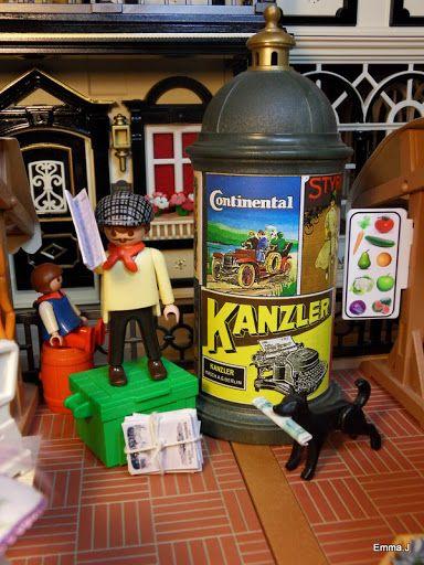 Playmobil By Emma.J Victorian Market Street