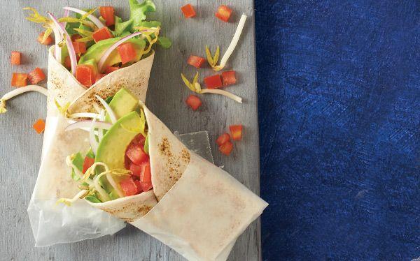 Rico desayuno...Hoy puedes desayunar un rico burrito vegetariano, rico y nutritivo  Recetas  Revista Cocina Vital